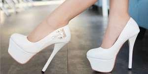 Сонник біле взуття a84990f6a1457